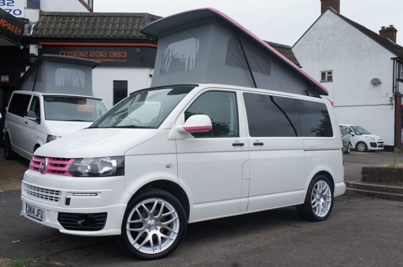 used VW Transporter PINK PANTHER HAS LANDED 4 BERTH  in new-haw-surrey