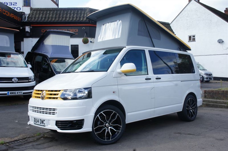 used VW Transporter T5 4 BERTH CAMPER JUST 23K MILES  in new-haw-surrey