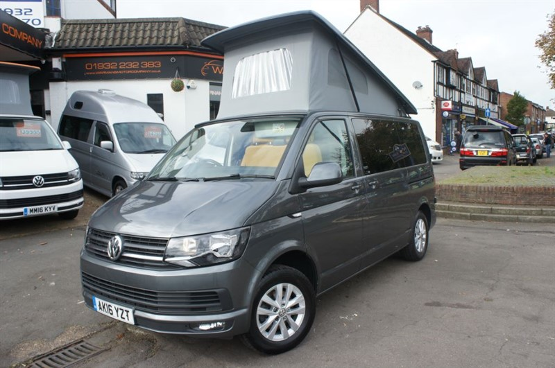 used VW Transporter 4 BERTH CAMPER VAN HIGHLINE T28 in new-haw-surrey