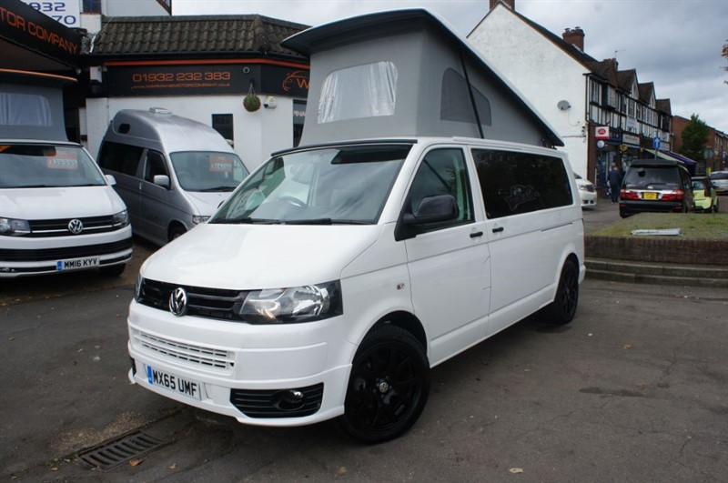 used VW Transporter T5 LWB TRANSPORTER SAT NAV JUST 2,351 MILES  in new-haw-surrey