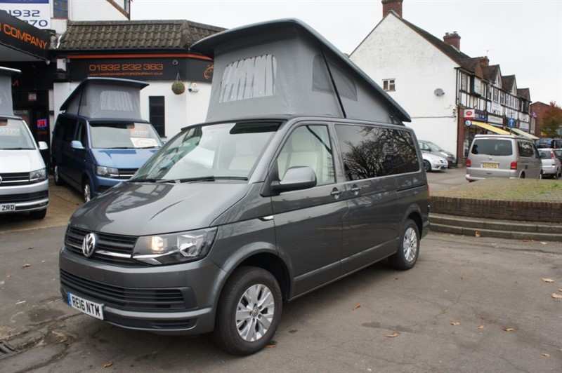 used VW Transporter VW T6 4 BERTH TRENDLINE NEW CONVERSION in new-haw-surrey