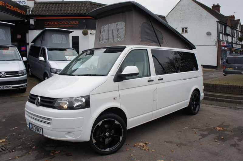 used VW Transporter 4 BERTH T30 LWB NEW CONVERSION in new-haw-surrey