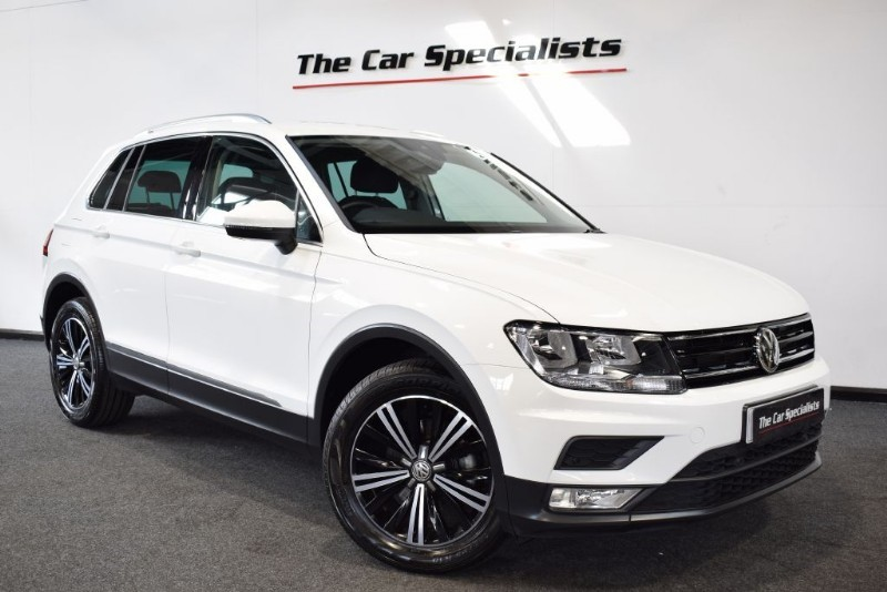 Used Pure White Vw Tiguan For Sale South Yorkshire