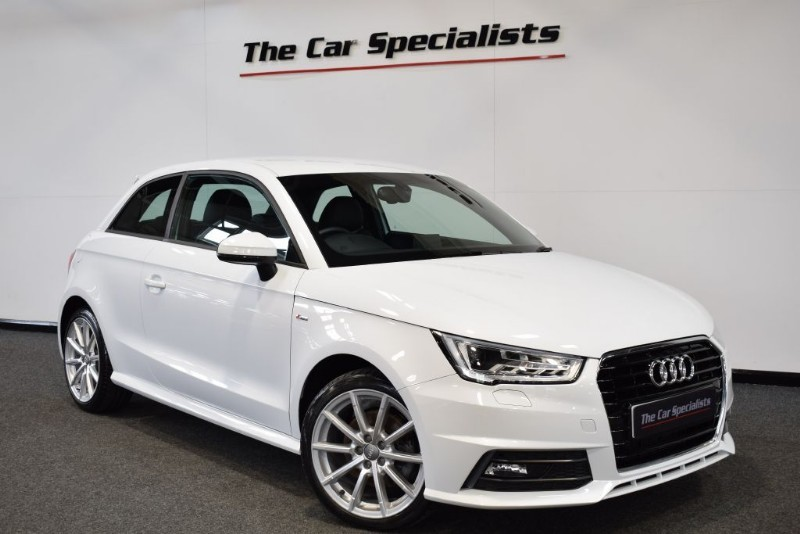 "used Audi A1 1.6 TDI S LINE SATELLITE NAVIGATION 17"" ALLOYS BLUETOOTH DAB in sheffield"