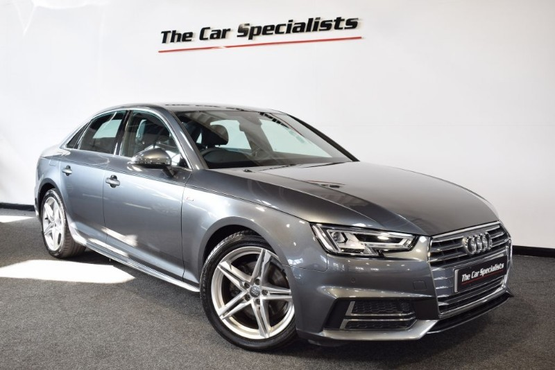 used Audi A4 2.0 TDI S LINE S-TRONIC SAT NAV BLUETOOTH in sheffield