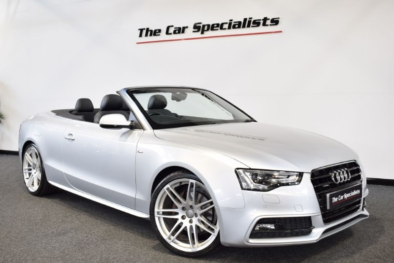 "used Audi A5 3.0 TDI QUATTRO S LINE S/S 20"" ALLOYS BANG & OLUFSEN E/M SEATS SAT NAV  in sheffield"