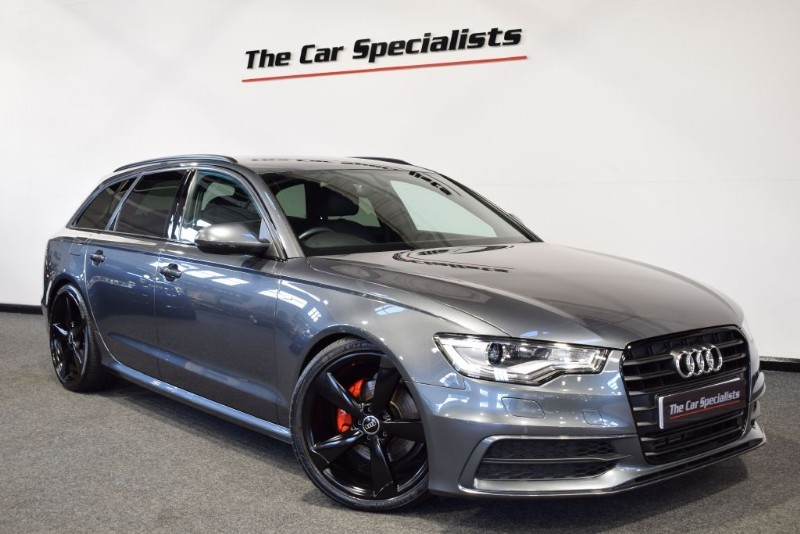 """used Audi A6 Avant 2.0 TDI S LINE BLACK EDITION 20"""" ALLOYS BOSE BLACK STYLING PACK BLUETOOTH in sheffield"""