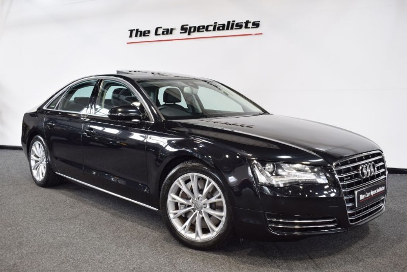 used Audi A8 4.2 TDI QUATTRO SE EXECUTIVE SUNROOF BOSE SAT NAV BLUETOOTH AIR SUSPENSION in sheffield