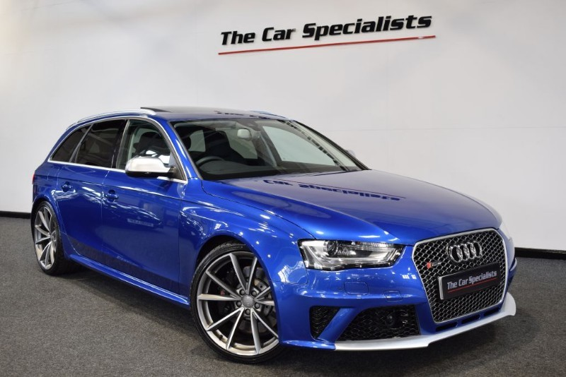 used Audi RS4 Avant 4.2 FSI QUATTRO SPORTS PACKAGE PAN ROOF B+O ADAPTIVE CRUISE R/CAMERA in sheffield