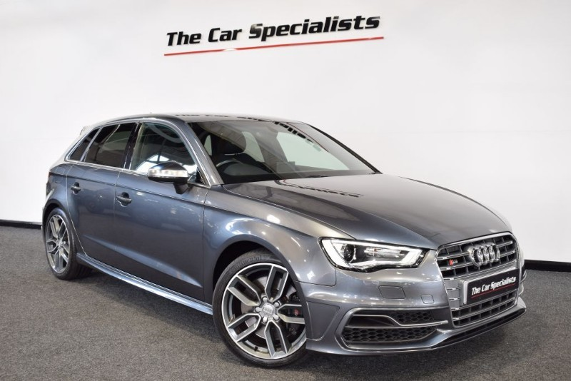 used Audi S3 2.0 TFSI SPORTBACK QUATTRO SATELLITE NAVIGATION BLUETOOTH H/FRONT SEATS  in sheffield