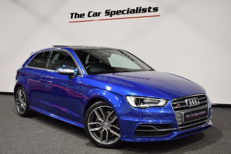 used Audi S3 2.0 TFSI QUATTRO PANORAMIC ROOF SAT NAV COMFORT PACK  in sheffield