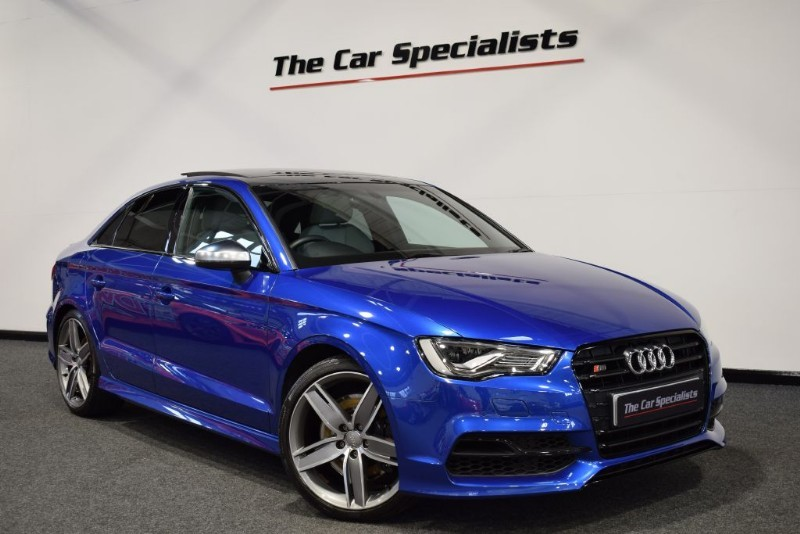 used Audi S3 2.0 TFSI QUATTRO PANORAMIC ROOF SATELLITE NAVIGATION BLACK STYLING PACK in sheffield