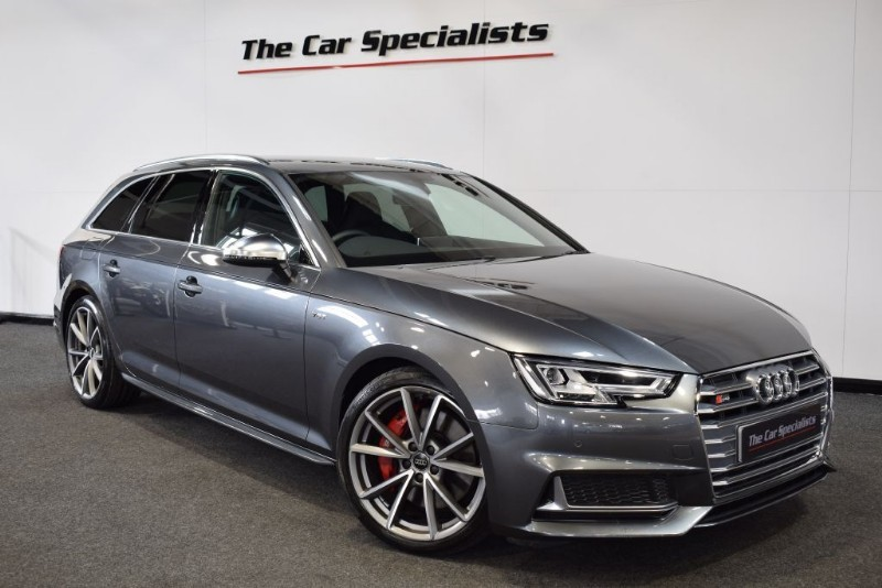 "used Audi S4 Avant 3.0 TFSI QUATTRO S4 VIRTUAL COCKPIT 19"" V SPOKE ALLOYS QUILTED INTERIOR DAB in sheffield"