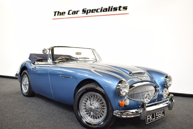 used Austin Healey 3000 MARK 3 PHASE 2 1965 COMPLETELY METICULOUSLY RESTORED  in sheffield