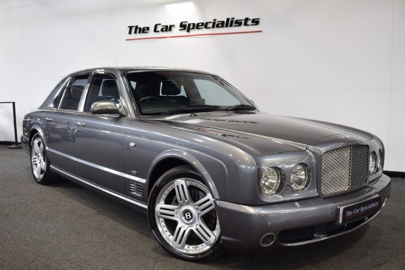 "used Bentley Arnage 6.8 T FINAL SERIES UPGRADES 20"" ALLOYS SAT NAV REAR ENTERTAINMENT in sheffield"