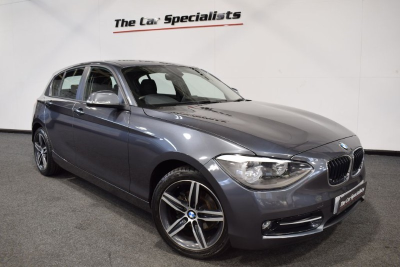 "used BMW 116d 2.0d SPORT 17"" ALLOYS BLUETOOTH DAB *SERVICE PACK* in sheffield"