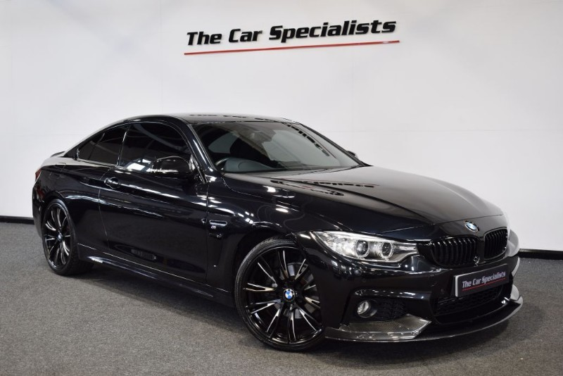 "used BMW 420d 2.0 M SPORT M PERFORMANCE PACK PRO NAV 20"" ALLOYS EXTERIOR CARBON PACK   in sheffield"