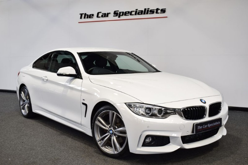 "used BMW 420d 2.0 M SPORT 19"" M DOUBLE SPOKE ALLOYS SAT NAV H/SEATS DAB FULL LEATHER in sheffield"
