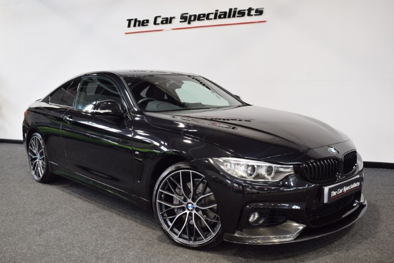 """used BMW 435d XDRIVE M SPORT PRO NAV 20"""" ALLOYS EXTERIOR CARBON PACK SERVICE PACK in sheffield"""
