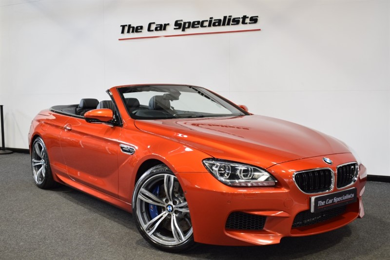 used BMW M6 4.4 M DCT SOFTCLOSE DOORS HEAD UP DISPALY 360 CAMERAS CARBON INTERIOR 20