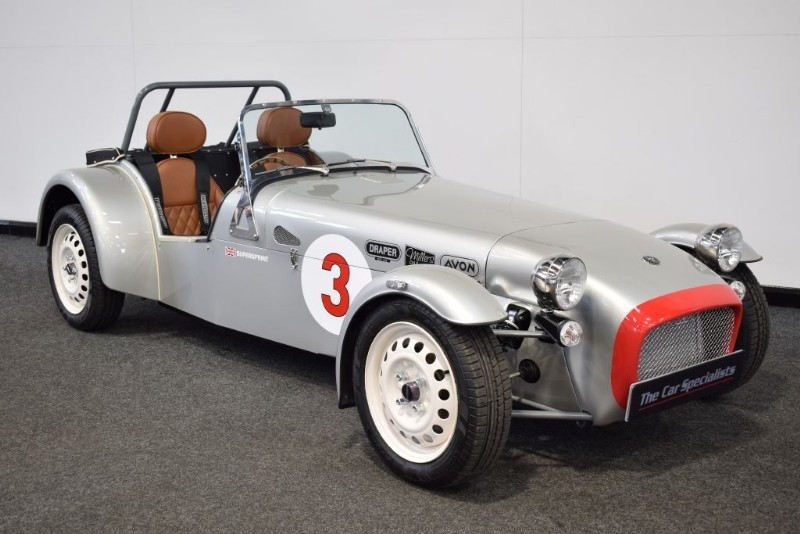 used Caterham Super Sprint 660cc 95 BHP 1 OF 60 DELIVERY MILES ONLY + FULL WEATHER GEAR in sheffield