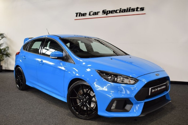 used Ford Focus 2.3 RS SHELL SEATS SAT NAV R/CAMERA BLUETOOTH LUX PACK 1 in sheffield
