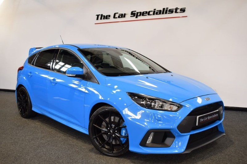used Ford Focus 2.3 RS SAT NAV BLUETOOTH DAB R/CAMERA in sheffield