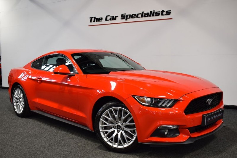 used Ford Mustang 2.3 ECOBOOST SHAKER AUDIO CUSTOM PACK R/CAMERA H/C SEATS in sheffield