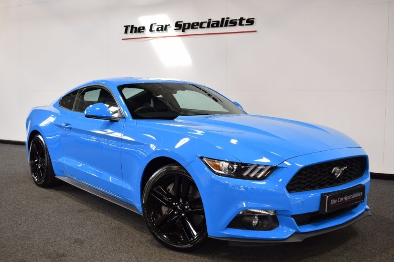 used Ford Mustang 2.3 ECOBOOST CUSTOM PACK SHAKER SOUND R/CAMERA H/C SEATS in sheffield