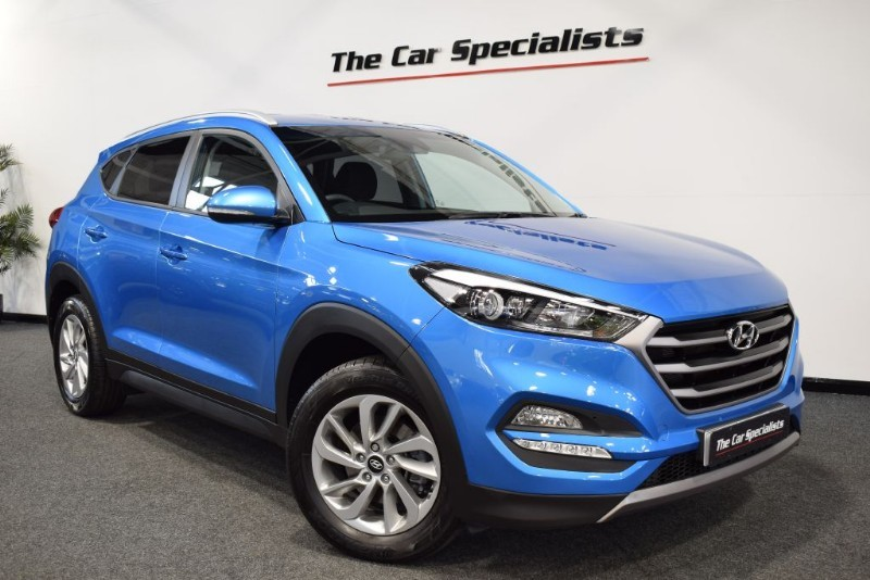 used Hyundai Tucson 1.7 CRDI SE NAV BLUE DRIVE SAT NAV BLUETOOTH DAB R/CAMERA in sheffield