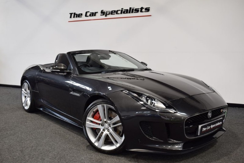used Jaguar F-Type 5.0 V8 S ACTIVE SPORTS EXHAUST MERIDIAN EXTERIOR CARBON TRIMS JAGUAR S/H in sheffield