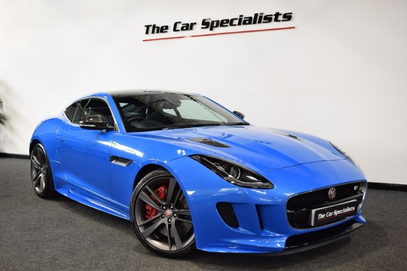 used Jaguar F-Type BRITISH DESIGN EDITION AWD PAN ROOF SPORTS EXHAUST MERIDIAN EXT CARBON PACK in sheffield