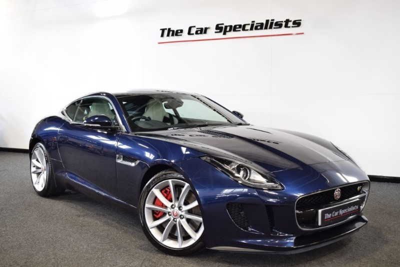 used Jaguar F-Type 3.0 V6 S SPORTS EXHAUST PERFORMANCE SEATS PAN ROOF PREMIUM LEATHER in sheffield