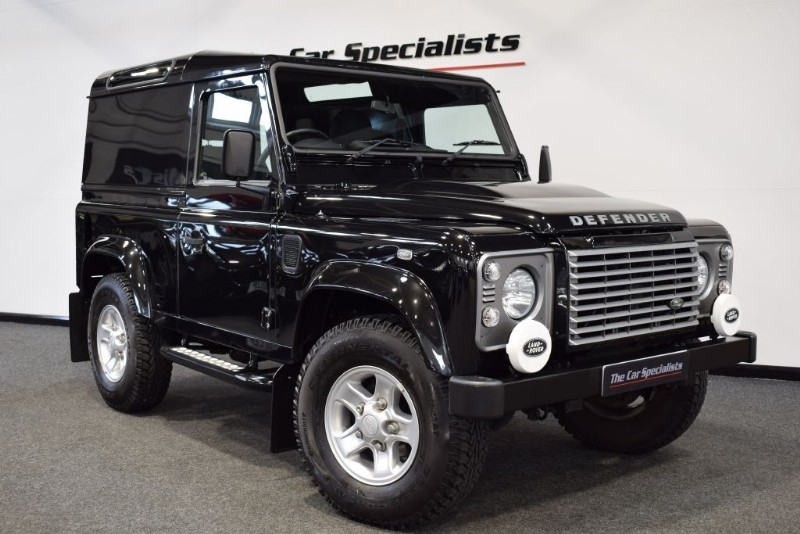 used Land Rover Defender 2.2 90 TD HARD TOP XS **NO VAT** BLUETOOTH H/SEATS SIDE STEPS JUST SERVICED in sheffield