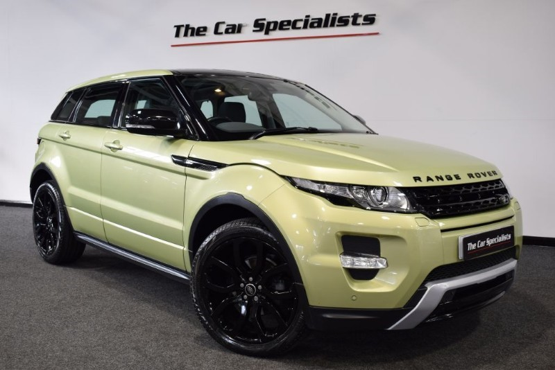 "used Land Rover Range Rover Evoque SD4 DYNAMIC PAN ROOF MERIDIAN SAT NAV BLUETOOTH 20"" ALLOYS in sheffield"