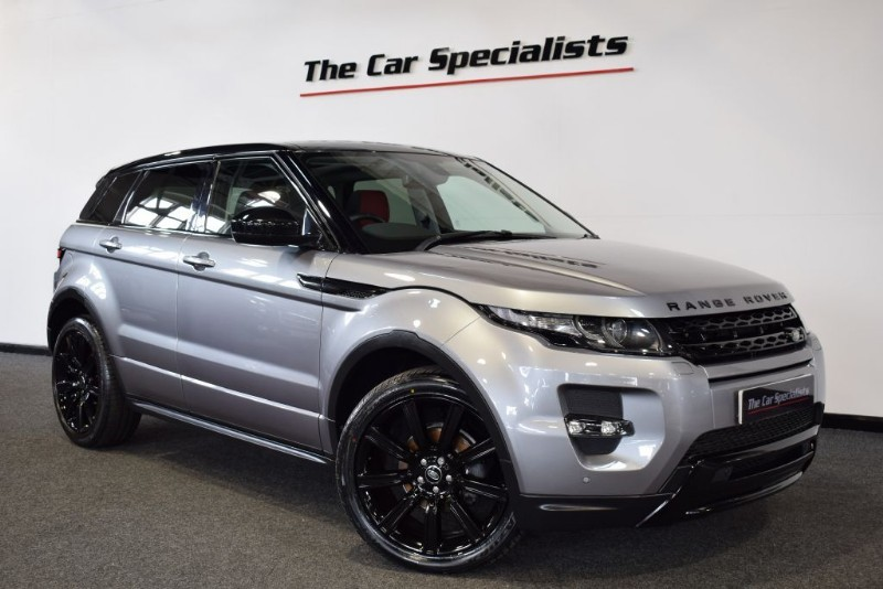 used Land Rover Range Rover Evoque 2.2 SD4 DYNAMIC BLACK PACK PAN ROOF MERIDIAN in sheffield