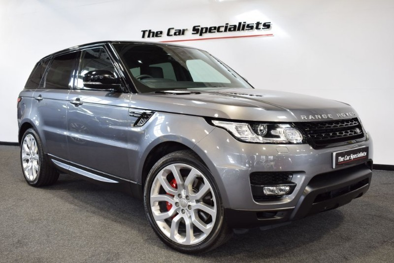 "used Land Rover Range Rover Sport SDV6 HSE DYNAMIC 22"" ALLOY WHEELS SAT NAV BLUETOOTH in sheffield"