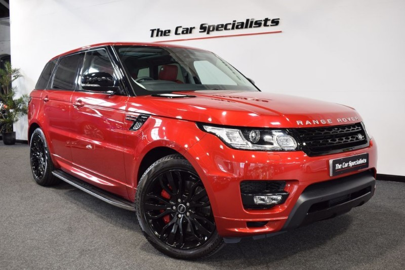 "used Land Rover Range Rover Sport SDV6 AUTOBIOGRAPHY DYNAMIC PAN ROOF 21"" ALLOY WHEELS MERIDIAN LOW MILES in sheffield"