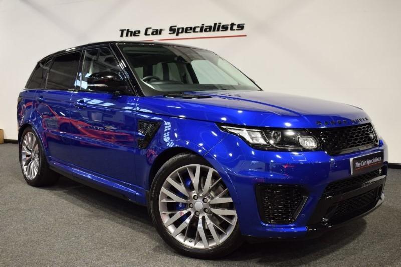 """used Land Rover Range Rover Sport 5.0 V8 SVR TILT AND SLIDE PANORAMIC ROOF 22"""" ALLOYS SAT NAV MERIDIAN in sheffield"""
