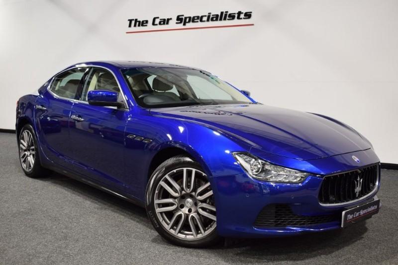 "used Maserati Ghibli 3.0 DV6 19"" APOLLO ALLOYS SAT NAV SABBIA LEATHER  in sheffield"