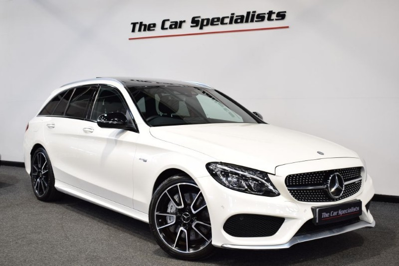 used Mercedes C43 AMG 3.0 4MATIC PREMIUM PLUS PAN ROOF COMAND SPORTS EXHAUST BURMESTER in sheffield