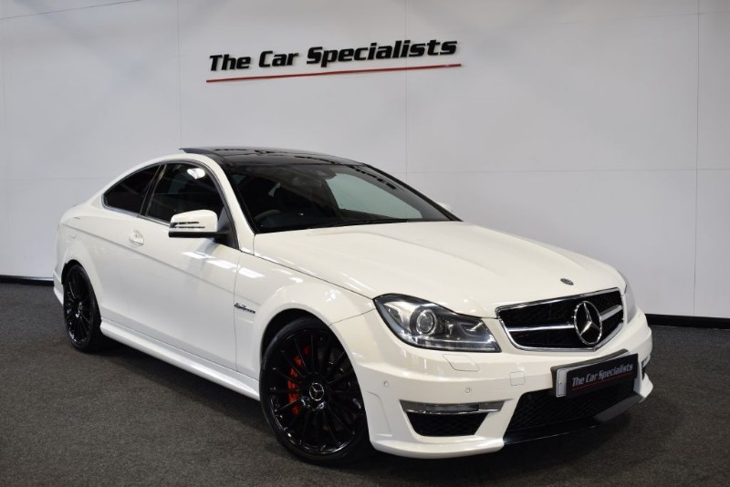 used Mercedes C63 AMG 63 EDITION 125 AMG PERFORMANCE PACK CARBON INTERIOR + EXTERIOR PACKS in sheffield