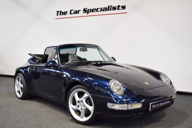 used Porsche 911 3.6 993 CARRERA CAT D RARE MANUAL **TRUE INVESTMENT OPPORTUNITY**  in sheffield