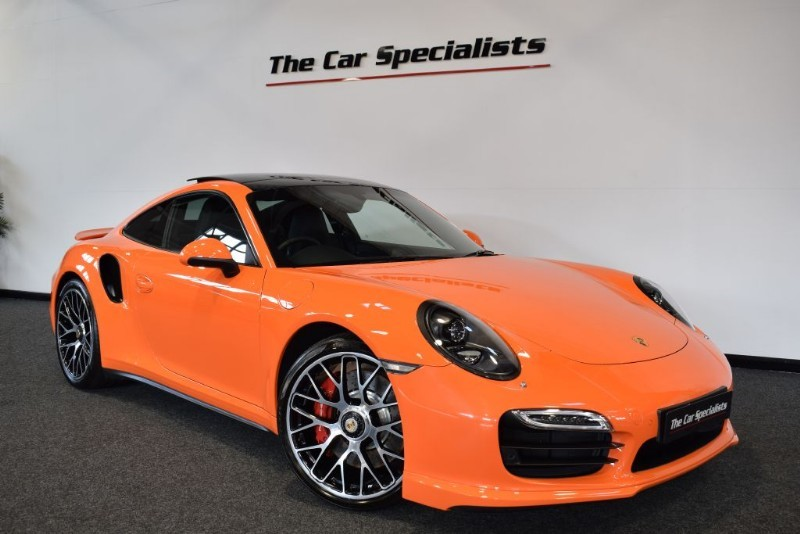 "used Porsche 911 Turbo 3.8 991 PDK INTERIOR CARBON PACK PAN ROOF BOSE 20"" TURBO S ALLOYS in sheffield"