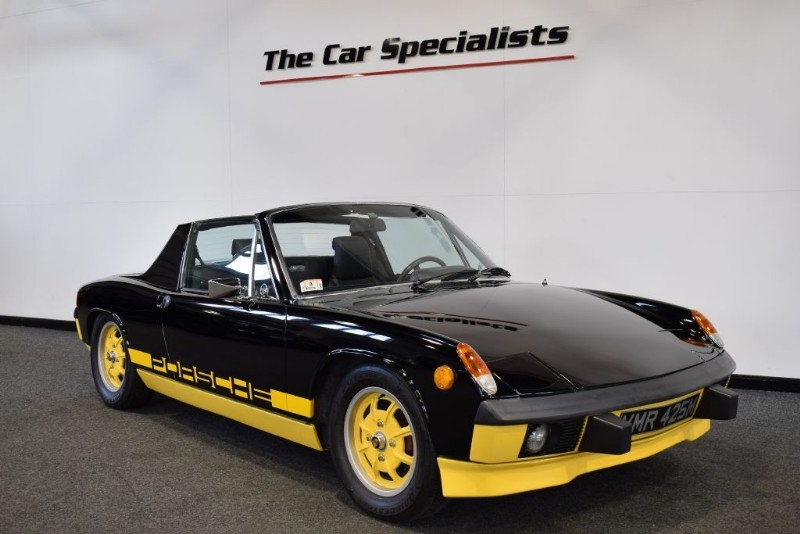 used Porsche 914 2.0 LE 1/1000 1974 RARE Can Am PACKAGE AND ONLY 1/500 IN THE BLACK/YELLOW in sheffield