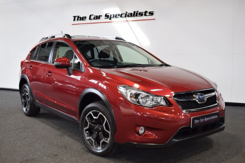 used Subaru XV 2.0 D SE PREMIUM SUNROOF SAT NAV BLUETOOTH FULL LEATHER DAB APPS R/CAMERA in sheffield