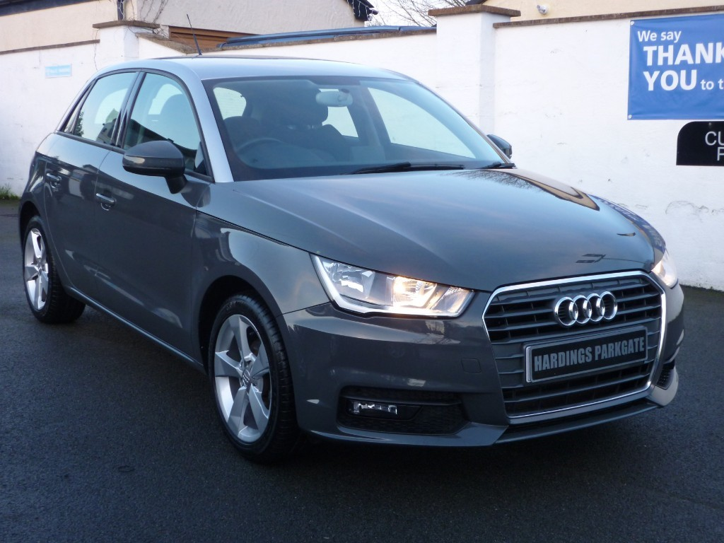 Used Grey With Silver Roof Audi A1 For Sale Cheshire