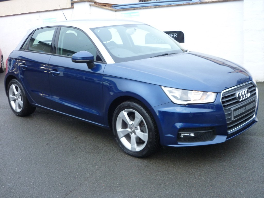 used Audi A1 SPORTBACK TFSI SPORT WITH 2 YEARS FREE SERVICING* used cars in wirral-cheshire