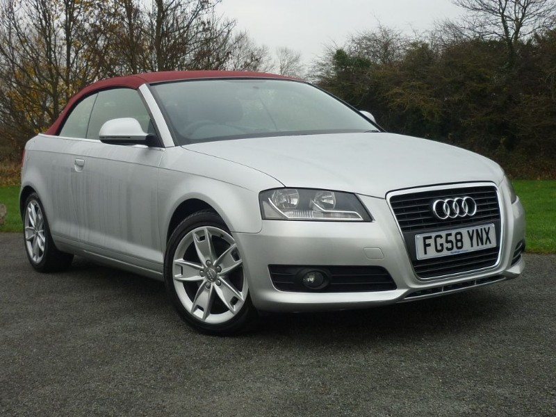 used Audi A3 TFSI SPORT CONVERTIBLE in wirral-cheshire