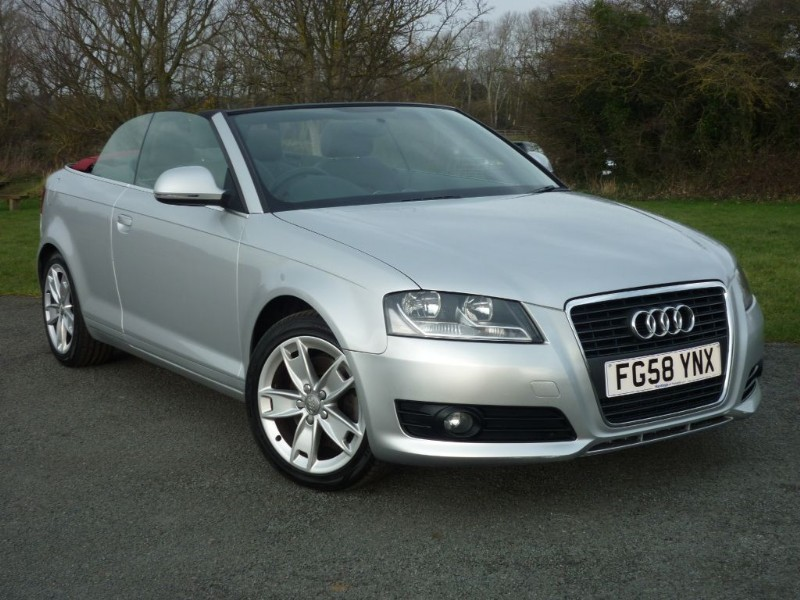 used silver metallic audi a3 for sale   cheshire